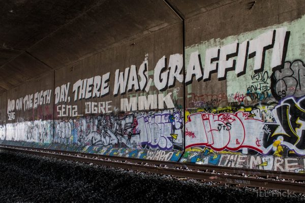 And on the 8th day there was graffiti-14