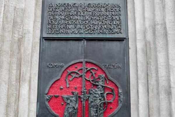 Front Door of Hallgrímskirkja-11