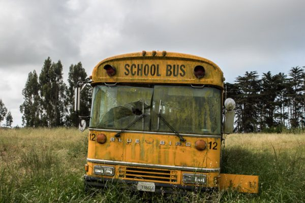 Front of school bus-15